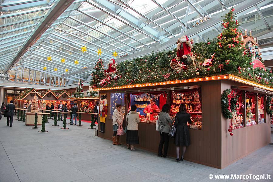 mercatino di Natale a Roppongi Hills